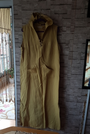 keten elbise