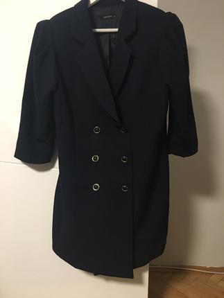 Lacivert Ceket Elbise Kısa elbise