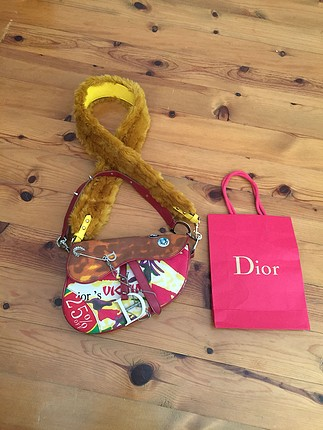 Dior saddle bag limited edition