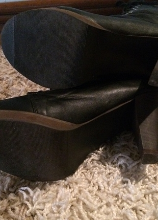 37 Beden Bağcıklı feminen Çizme