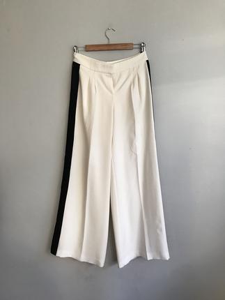 Ynları şeritli pantolon