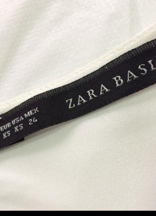 xs Beden beyaz Renk Zara kol detaylı bluz