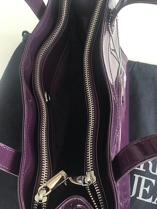 universal Beden mürdüm Renk Armani jeans kol çantası