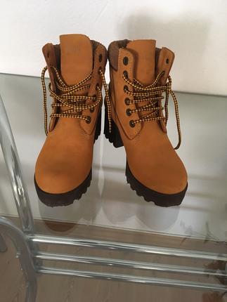 Hakiki Deri Bot Ayakkabı