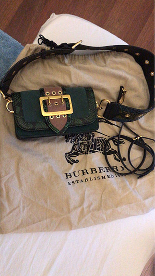 Burberry patchwork canta
