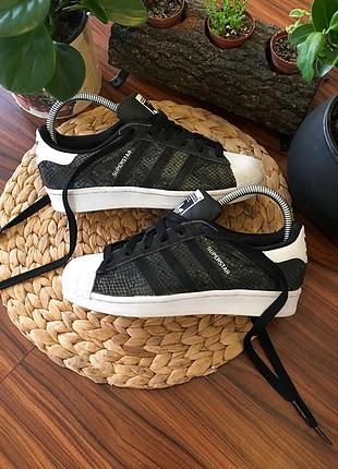 Adidas superstar snake özel seri 36 numara ayakkabı