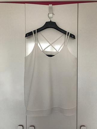 Mija String Askılı Hiç Kullanılmamış Bluz