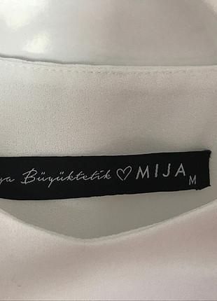m Beden ekru Renk Mija String Askılı Hiç Kullanılmamış Bluz