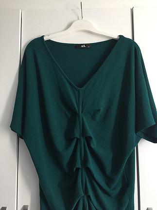 xs Beden Yeşil bluz