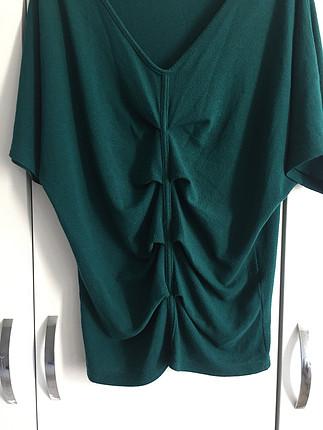 xs Beden yeşil Renk Yeşil bluz