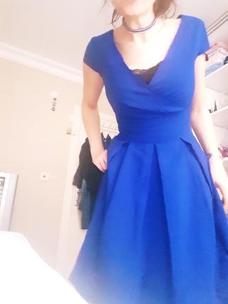 Saks Mavisi Harika Bi Elbise Zara