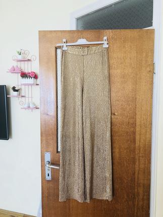 Gold Rengi Pantolon Pantolon