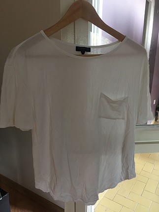 Salaş beyaz tişört