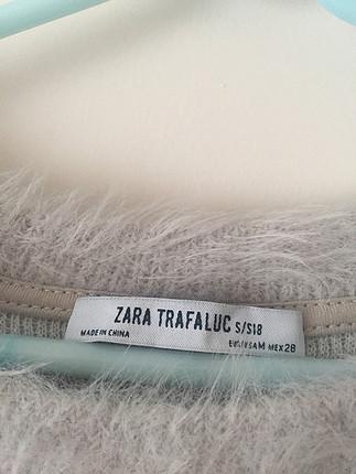 Zara Zara tüylü kazak