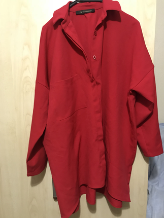 Kırmızı Bluz Gömlek
