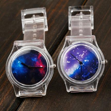 Часы скелетон - часы с прозрачной задней крышкой или