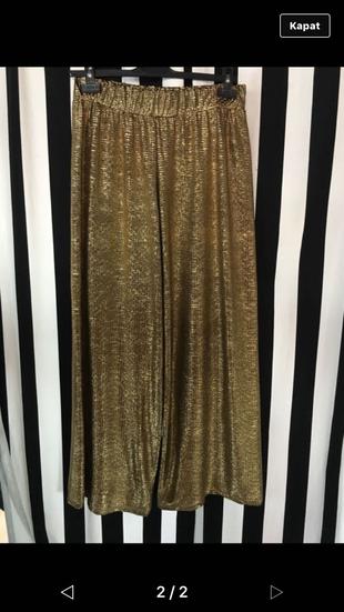 Altın Sarısı Pantolon Pantolon