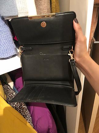 universal Beden Aldo hem çapraz çanta hem clutch hem cüzdan olarak kullanılabili