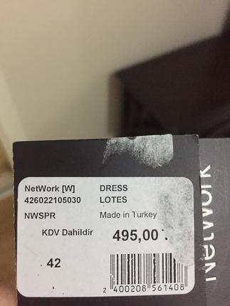 42 Beden Network elbise