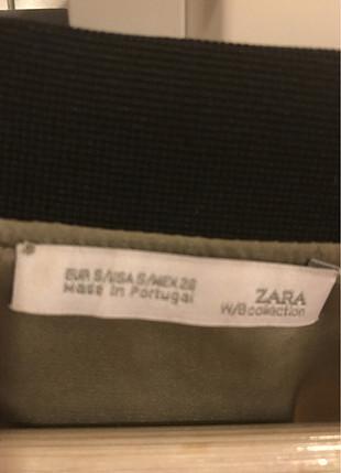 Zara Saten tipi kısa ceket