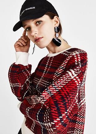 Kareli sweatshirt