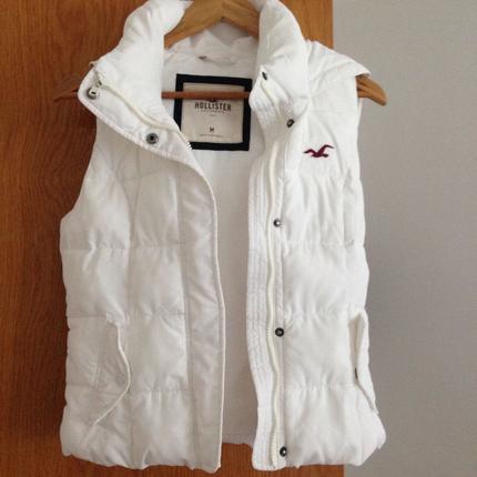 Beyaz Şişme Yelek Dış giyim