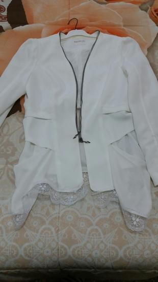 Beyaz Ceket Asics