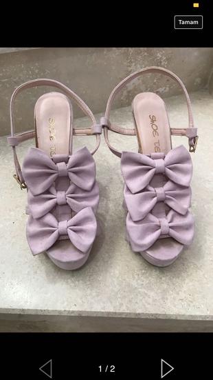 Fiyonklu Ayakkabı Shoe Tek