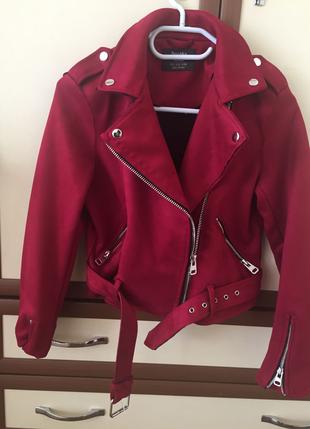 Bershka Kırmızı Ceket Kadın tümü