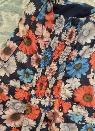 Çiçekli Elbise Kısa elbise