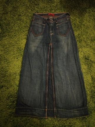 Levis Jeans Uzun Kot Etek Etek