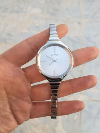 Calvin klein gümüş saat