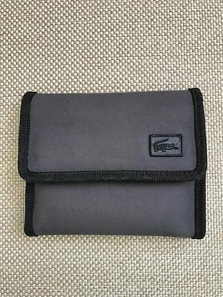 Lacoste kumaş cüzdan