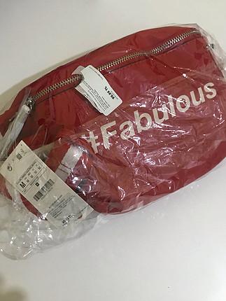 universal Beden kırmızı Renk Kırmızı bel çantası