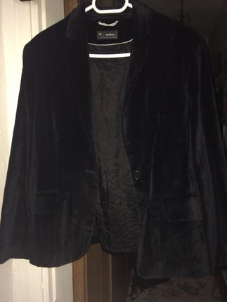 siyah kadife ceket
