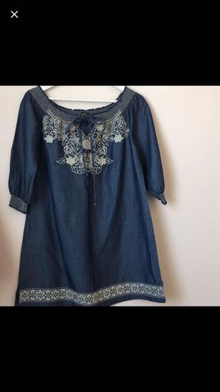 Kot Görünümlü Elbise Günlük elbise