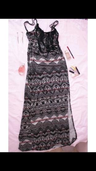 Yazlik Uzun Elbise Elbise