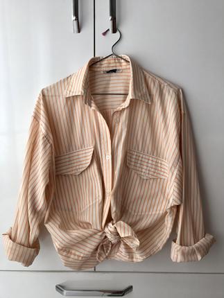 Vintage Love Çizgili gömlek