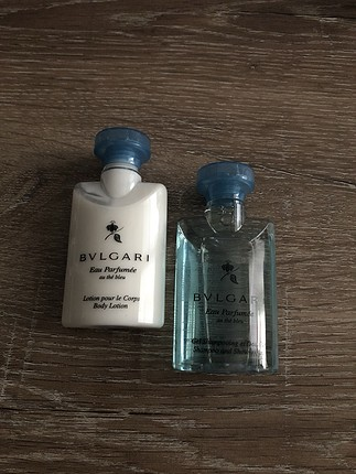 Bvlgari Şampuan-vücut losyonu