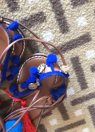 Bambi Ponponlu sandalet