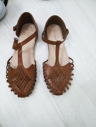 temiz zara sandalet