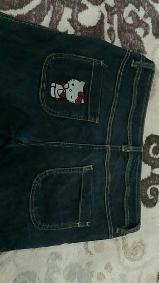 Hello Kity Orijinal Jeans Pantolon