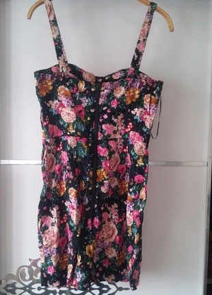 m Beden çeşitli Renk mango cicekli elbise