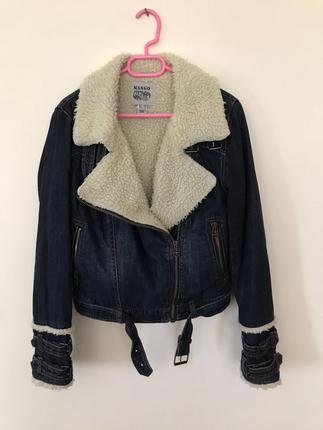 Kürklü kot ceket