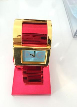 D&G kol saati altın mavi