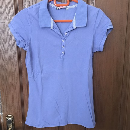 açık mor/ lila renkte t-shirt