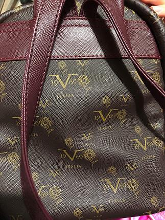 universal Beden kahve Renk Versace 1969 sırt çantası