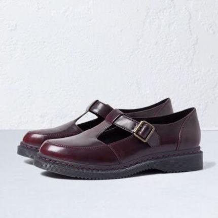 Bershka bordo ayakkabı