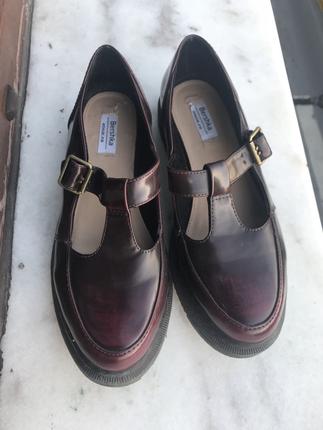 Bershka Bershka bordo ayakkabı