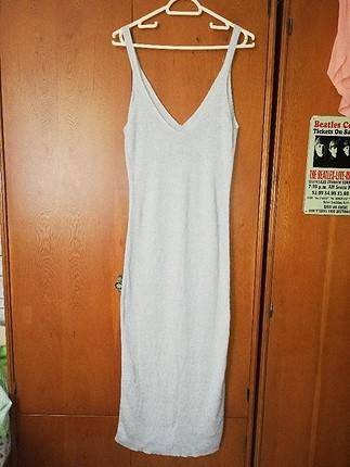 Uzun Yazlık Örgü Elbise